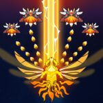 Sky Champ Galaxy Space Shooter MOD APK 6.2.3 Unlimited Money