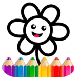 Toddler Drawing Academy Coloring Games for Kids MOD Unlimted Money