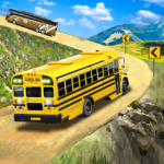 Offroad School Bus Driving Flying Bus Games 2020 1.35 MOD Unlimted Money