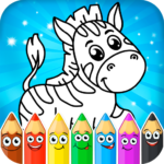 Coloring pages for children: animals 1.3.9  (MOD, Unlimted Money)