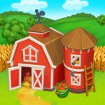 Farm Town Happy village near small city and town 3.41 MOD Unlimted Money
