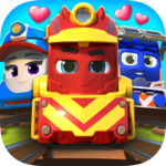 Mighty Express – Play & Learn with Train Friends com.spinmaster.mightyexpressgamesworld (MOD, Unlimted Money)