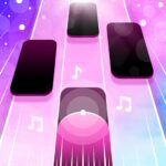 Magic Pink Tiles Piano Game 1.0.0 MOD Unlimted Money