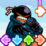 Music Fighter Whitty FNF Game MOD Unlimted Money