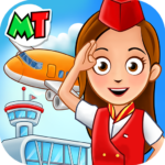 My Town Airport Free MOD Unlimted Money