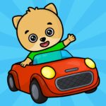 Car games for toddlers 1.9 (MOD, Unlimted Money)