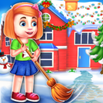 Christmas House Cleaning Game 1.0.5 (MOD, Unlimted Money)