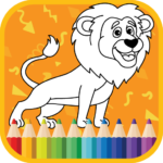 Kids Coloring Book Cute Animals Coloring Pages MOD Unlimted Money