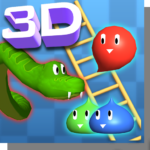 Snakes and Ladders Slime – 3D Battle MOD Unlimted Money