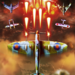 Top Fighter WWII airplane Shooter MOD Unlimted Money