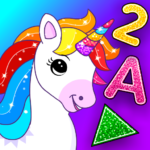 Unicorn Games for Kids Toddler 2 3 4 Year Olds MOD Unlimted Money
