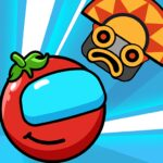 Red Bounce Ball Heroes MOD Unlimted Money