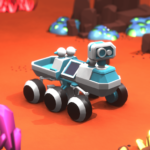 Space Rover Idle planet mining tycoon simulator MOD Unlimted Money