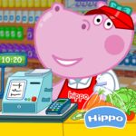 Cashier in the supermarket. Games for kids MOD Unlimted Money