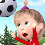 Masha and the Bear Football Games for kids MOD Unlimted Money