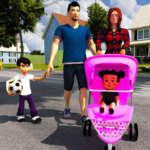 Virtual Mother Life Simulator – Baby Care Games 3D MOD Unlimted Money